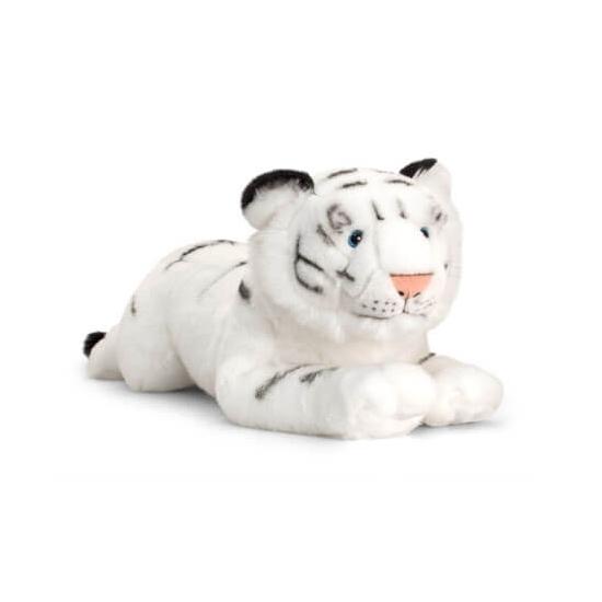 Keel Toys pluche witte tijger 46 cm