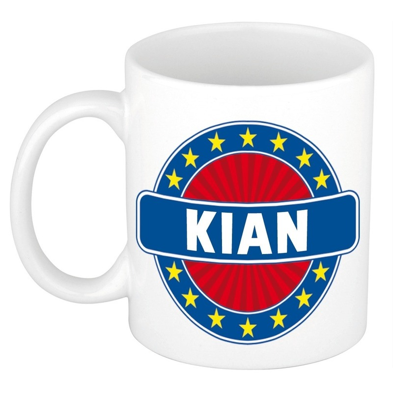 Kian naam koffie mok - beker 300 ml