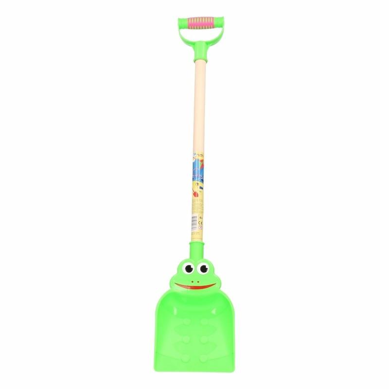 Kikker schep groen 75 cm