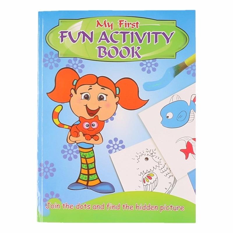 Kinder activiteitenboek 3 tot 8 jaar type 1