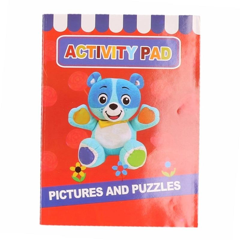 Kinder activiteitenboek 3 tot 8 jaar type 2