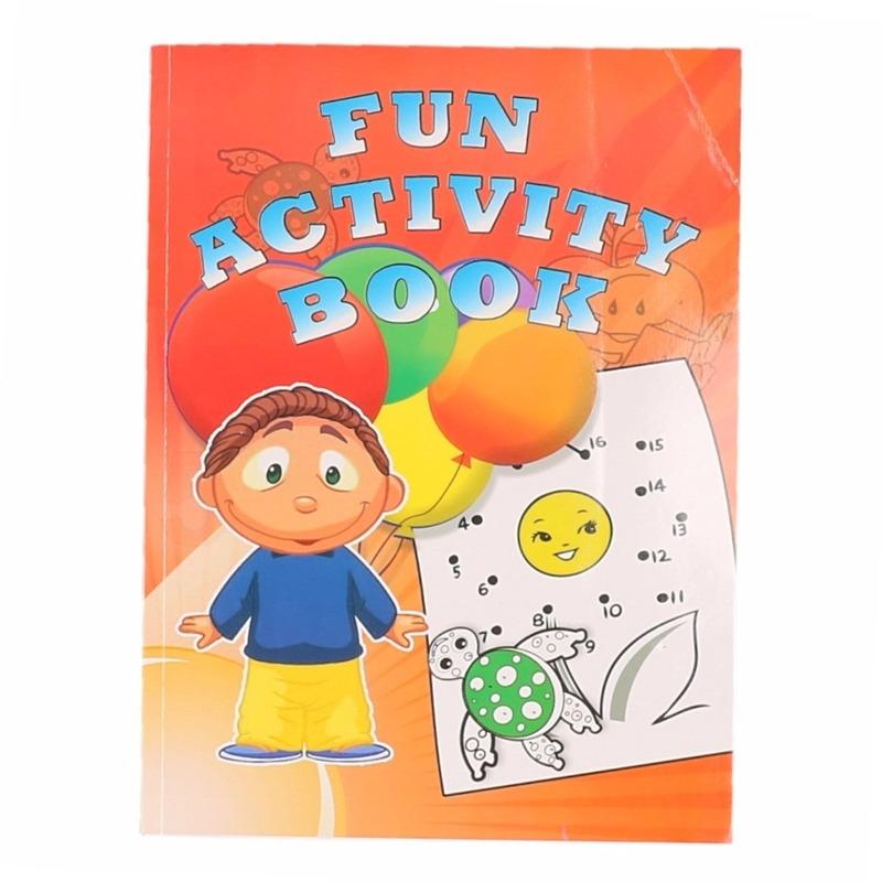 Kinder activiteitenboek 3 tot 8 jaar type 3