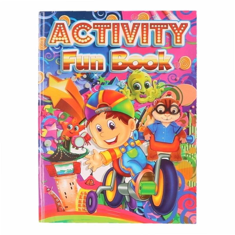 Kinder activiteitenboek 3 tot 8 jaar type 4