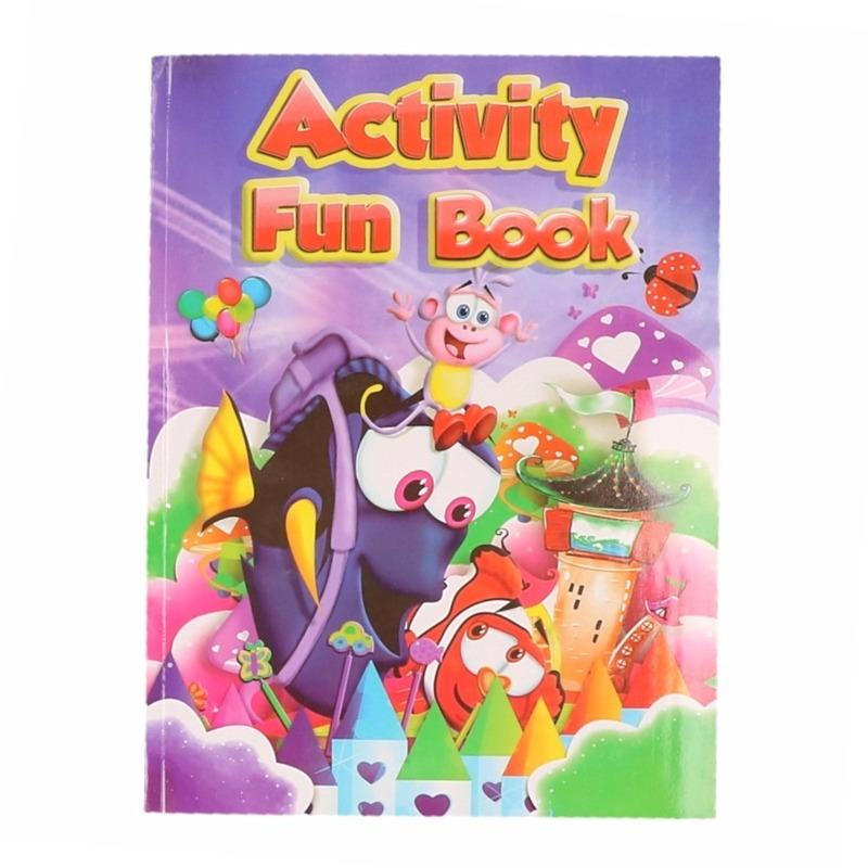 Kinder activiteitenboek 3 tot 8 jaar type 5