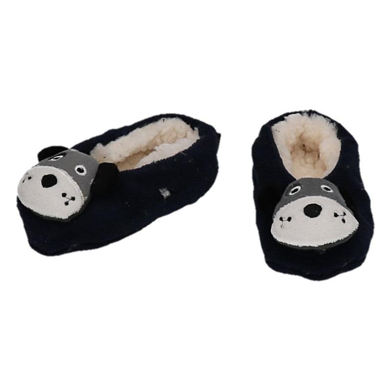 d945ac8eaba Kinder dieren pantoffels/slofjes hond € 6.95. Bij: feestartikelen-winkel.nl