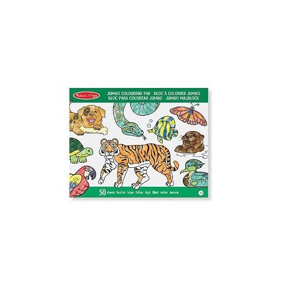 Kinder kleurboek dieren 50 paginas