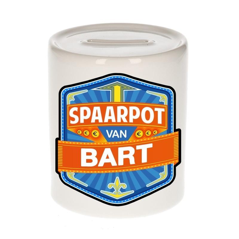 Kinder spaarpot voor Bart