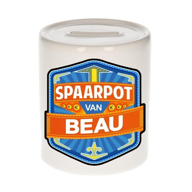 Kinder spaarpot voor Beau