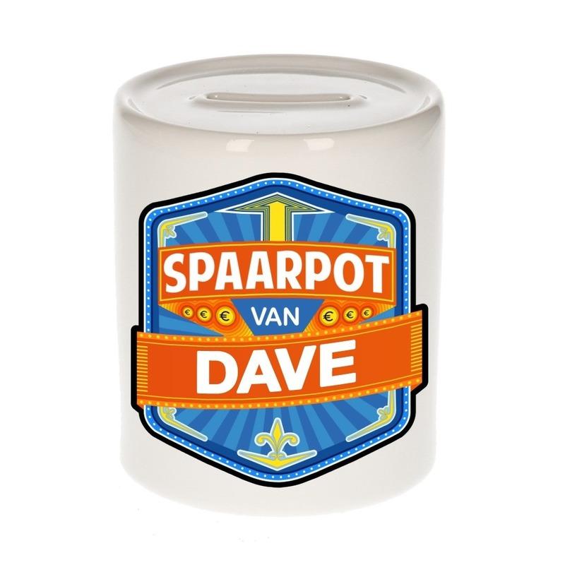 Kinder spaarpot voor Dave
