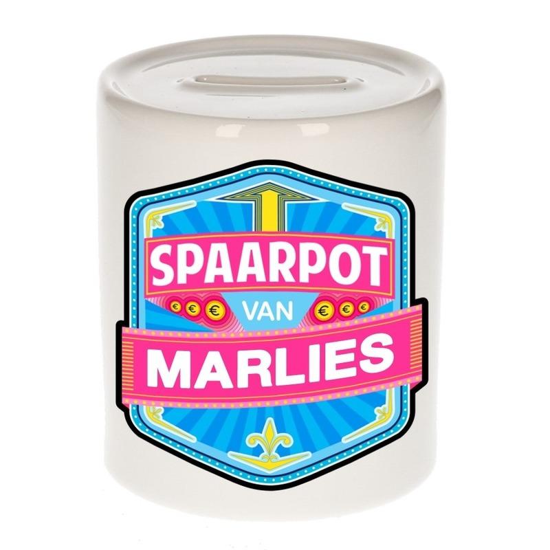 Kinder spaarpot voor Marlies