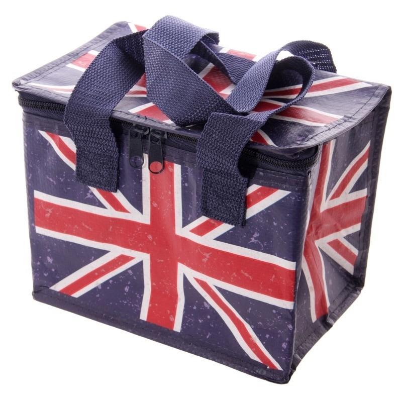 Kleine koeltas Union Jack/United Kingdom print voor 6/sixpack