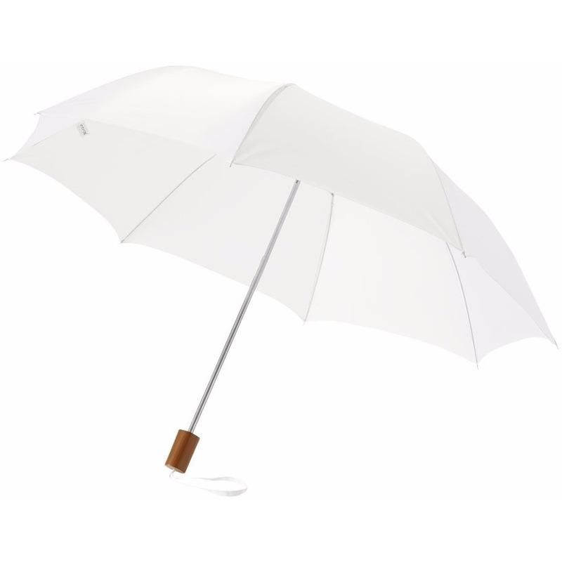 Kleine paraplu wit 93 cm