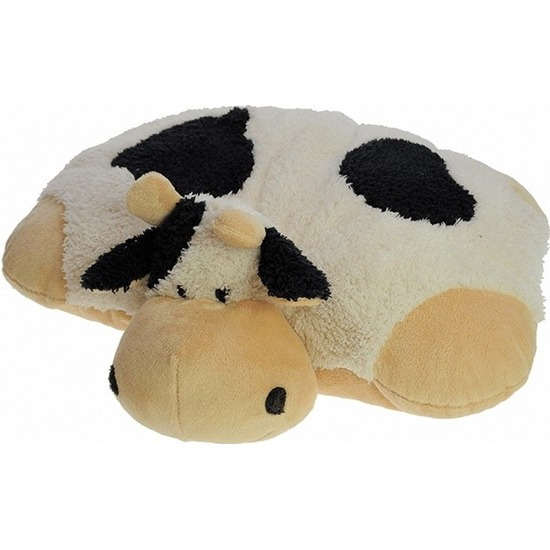 Knuffel kussen koe 45 x 30 cm