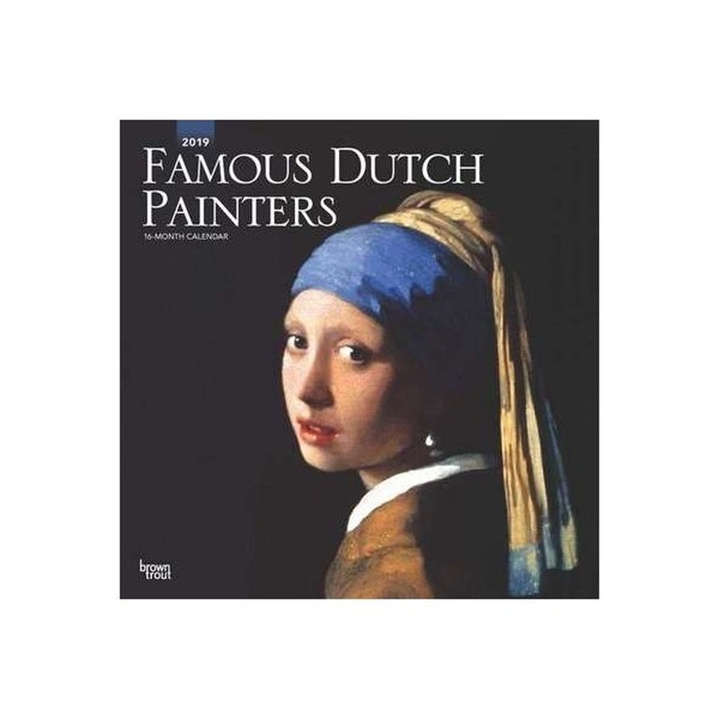 Kunst kalender Famous Dutch Painters 2019