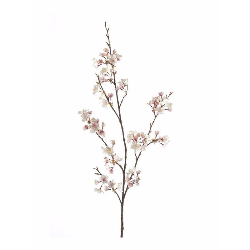 Kunst Kersen Bloesem tak 105 cm roze