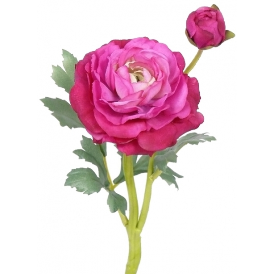 Kunst Ranonkel roze 35 cm