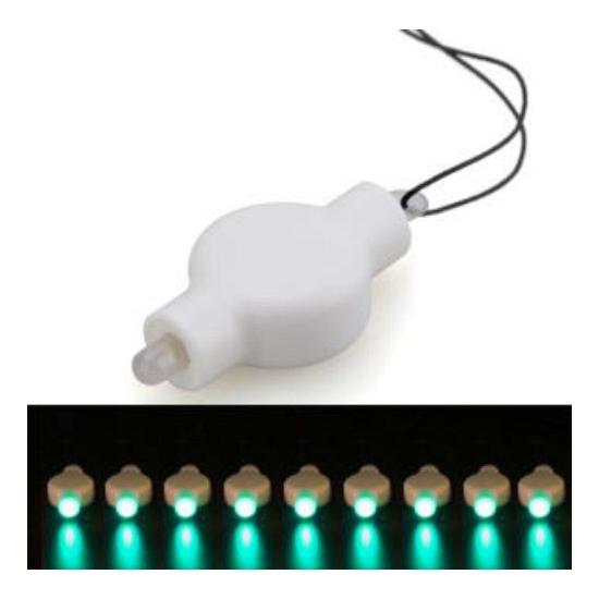 Lampion LED lampje groen