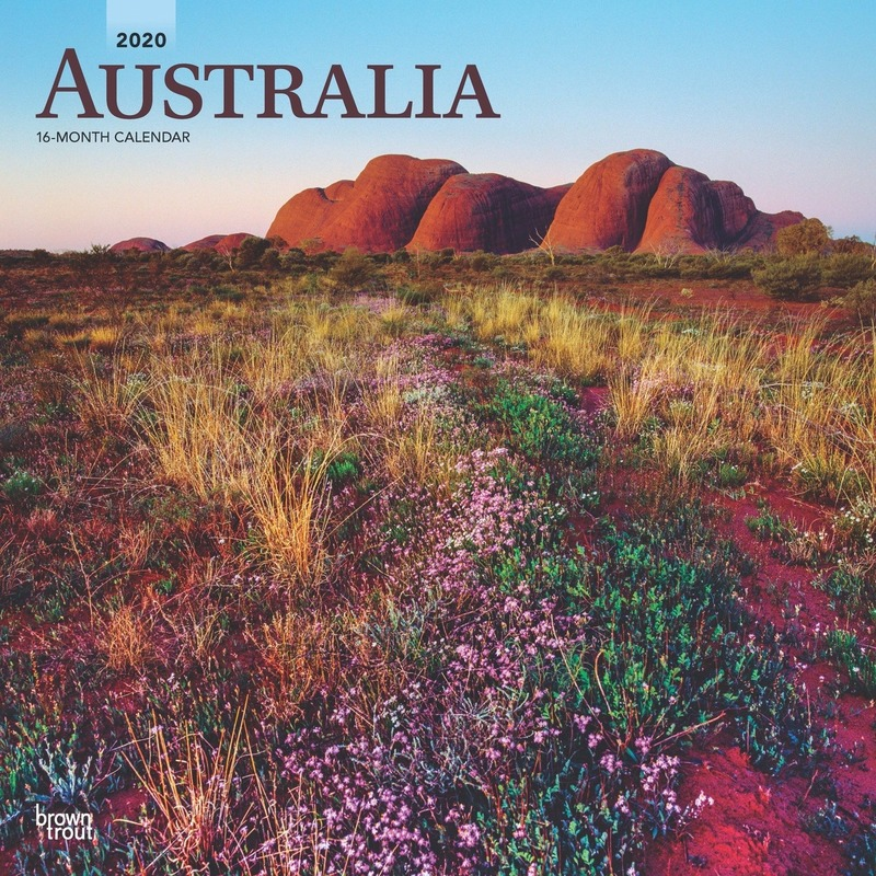 Landen kalender 2020 Australie