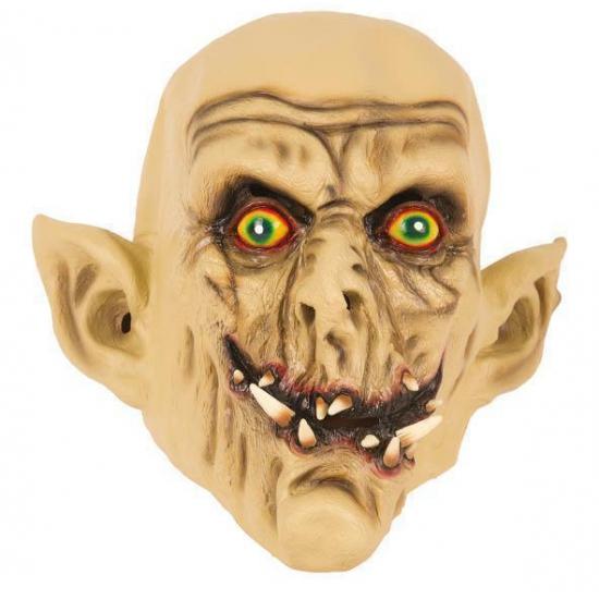 Latex horror masker enge Ork