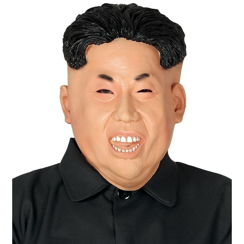Latex Kim Jong-un masker voor volwassenen