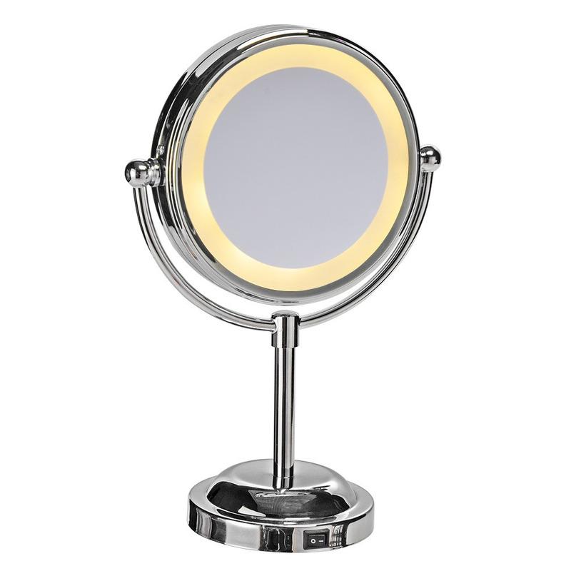 LED make-up spiegel - cosmetische spiegel met vergrootspiegel
