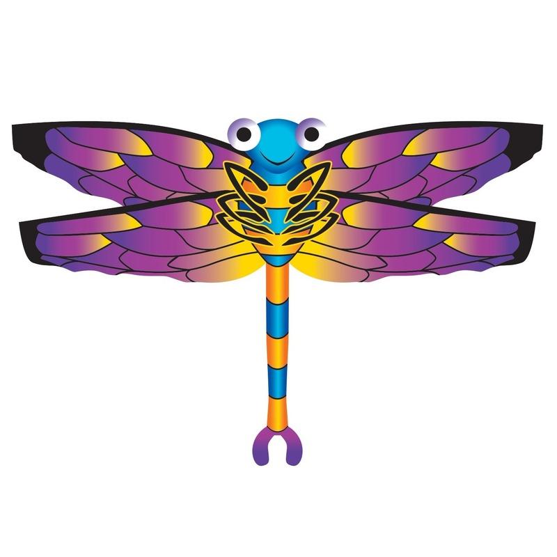 Libel vlieger 76 x 112 cm