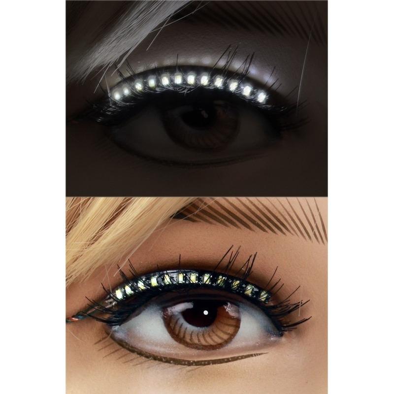 Lichtgevende LED wimpers voor dames