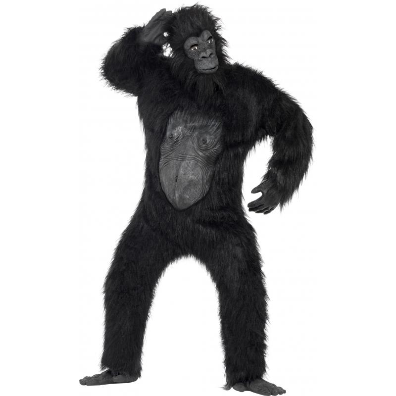 Luxe gorilla kostuum