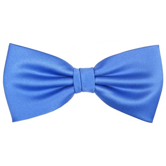 Luxe kobalt blauwe strik