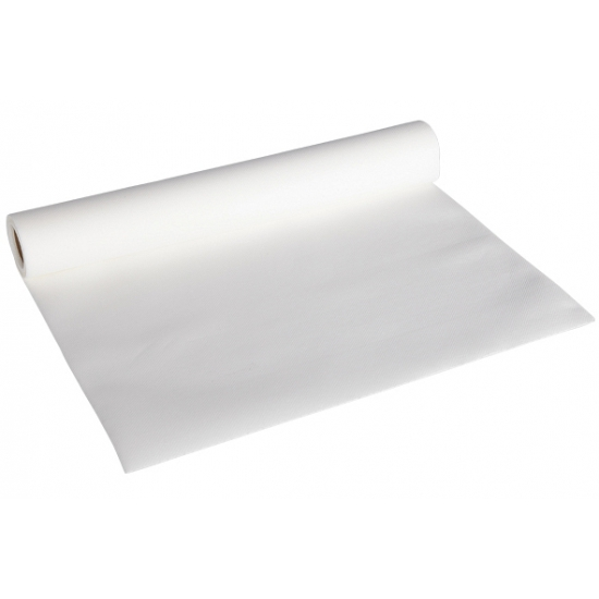Luxe witte kleur tafelloper