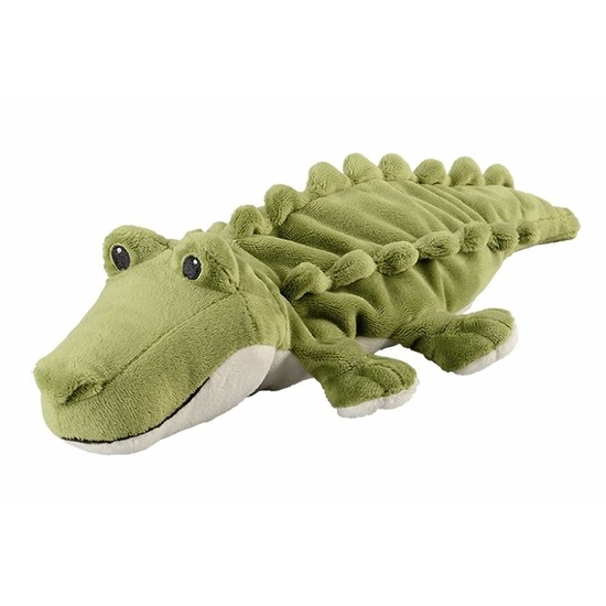 Magnetron warmte knuffel krokodil