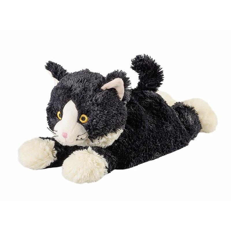 Magnetron warmte knuffel liggende kat