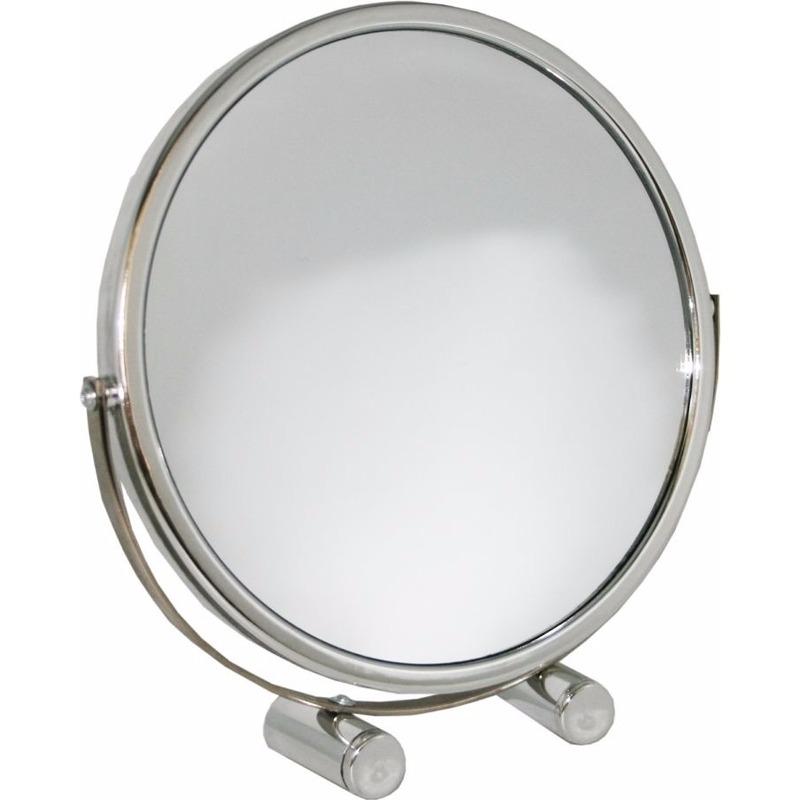Make up spiegeltje op standaard 18.5 cm