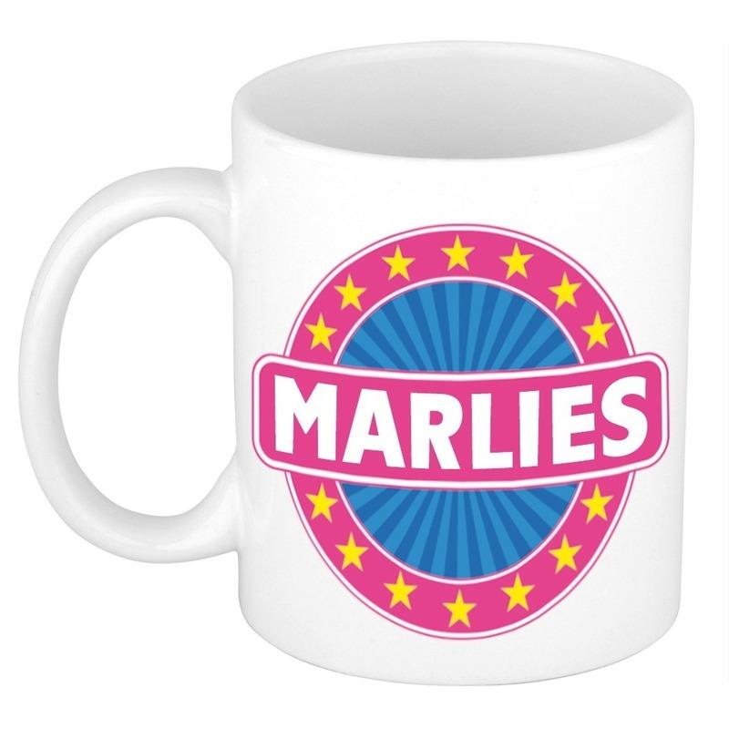 Marlies naam koffie mok / beker 300 ml