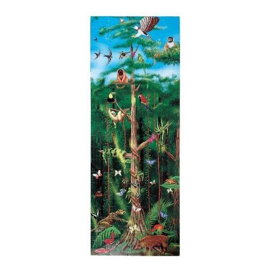 Mega puzzel regenwoud 100 stukjes