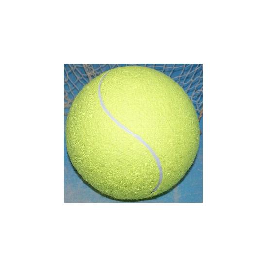 Mega tennisbal XXL geel 22 cm