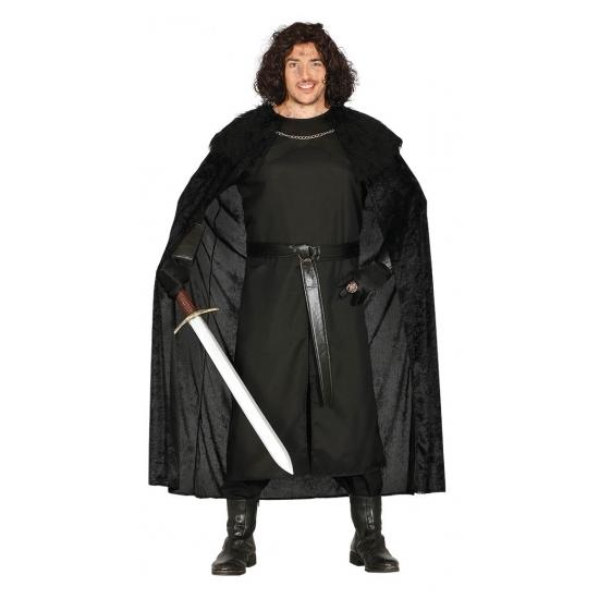 Middeleeuwse ridder verkleed kostuum