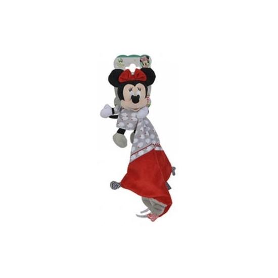 Minnie Mouse Disney knuffeldoekje rood