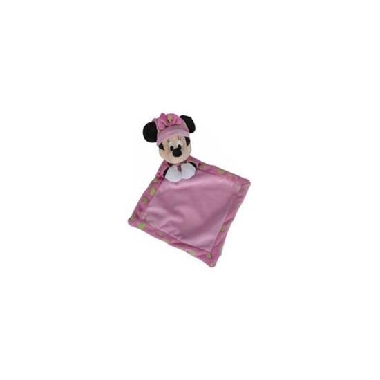 Minnie Mouse knuffeldoekje roze