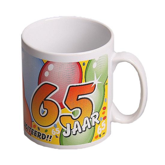 Mok gefeliciteerd 65 jaar
