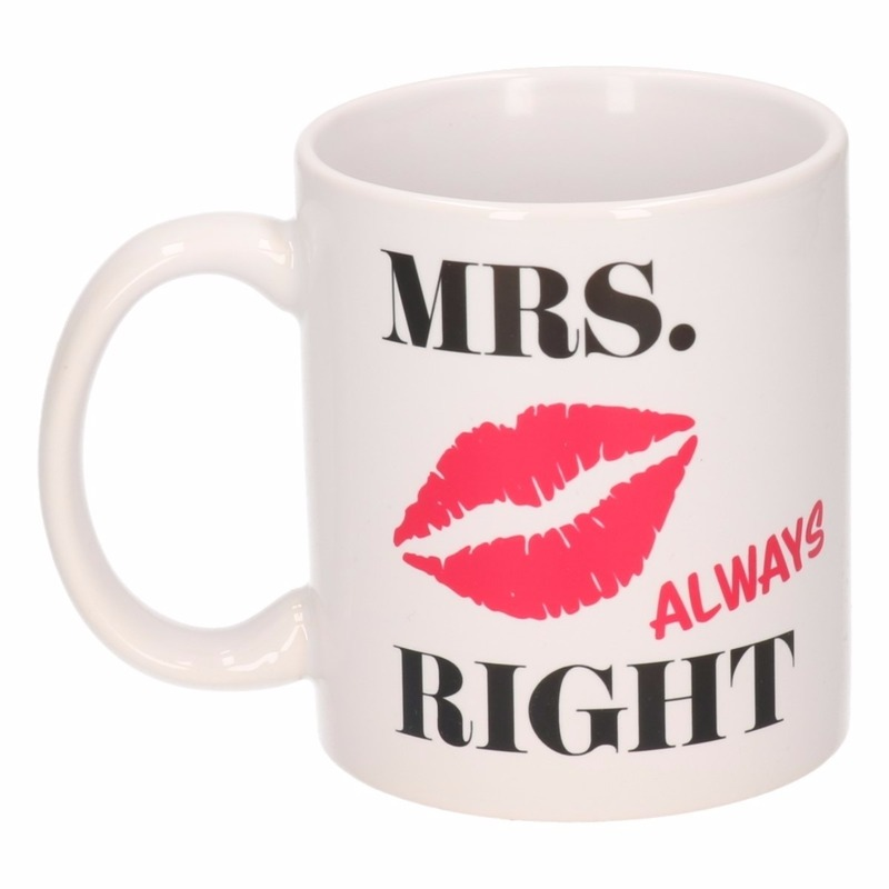 Mrs Always Right mok - beker 300 ml