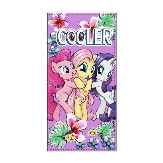 My Little Pony badlaken/strandlaken paars 70 x 140 cm