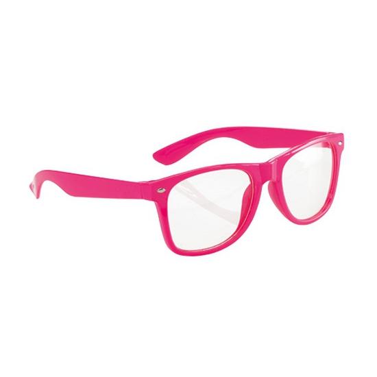 Neon bril roze