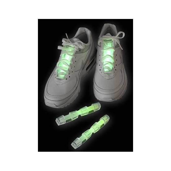 Neon glow schoenverlichting groen