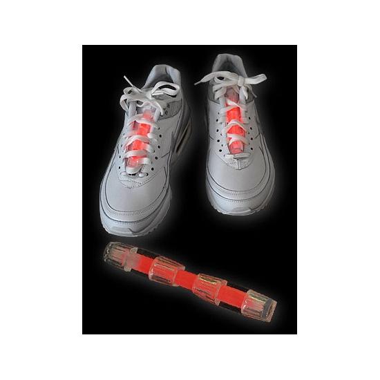 Neon glow schoenverlichting rood