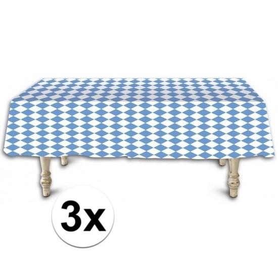 Oktoberfest - 3x Beieren tafelkleden/tafelzeilen 137 x 275 cm