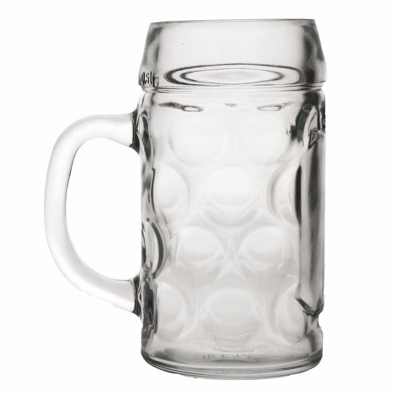Oktoberfest - Bierpullen/Bierglazen 1 liter Oktoberfest glazen