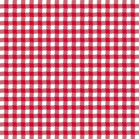 Oktoberfest - Oktoberfest Servetten geruit rood/wit 3-laags 20 stuks