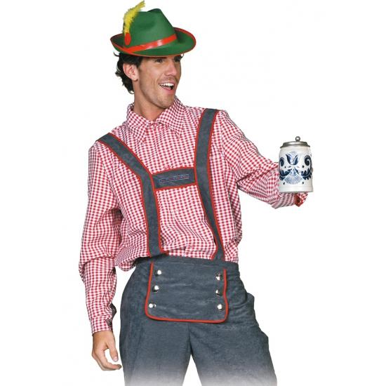 Oktoberfest - Tiroler blouse voor heren