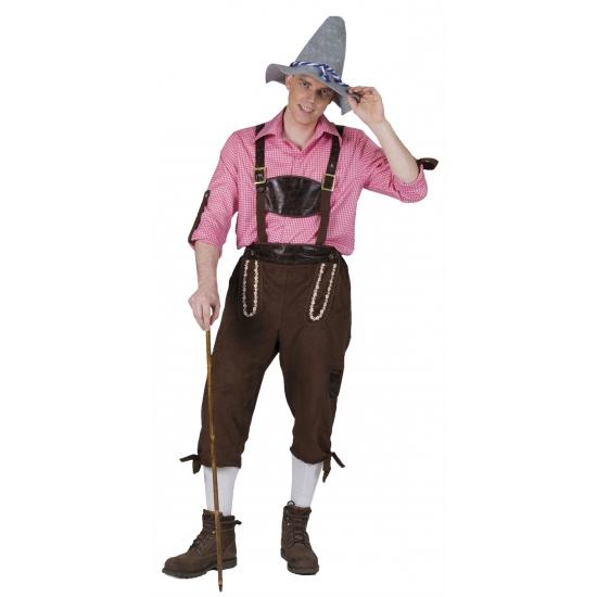 Oktoberfest - Tiroler broek voor heren